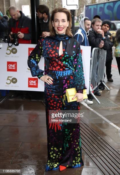 Laura Main attends the 2019 'TRIC Awards' held at The Grosvenor House Hotel on March 12 2019 in London England