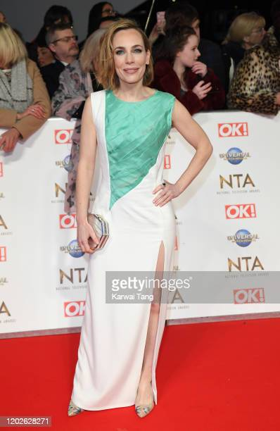 Laura Main attends the National Television Awards 2020 at The O2 Arena on January 28 2020 in London England