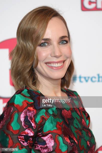 Laura Main attends The TV Choice Awards 2019 at Hilton Park Lane on September 9 2019 in London England