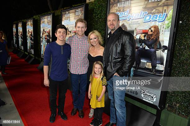 DAY Laura Marano and LeighAllyn Baker stars of the Disney Channel Original Movie Bad Hair Day celebrate the movie's upcoming premiere at a screening...