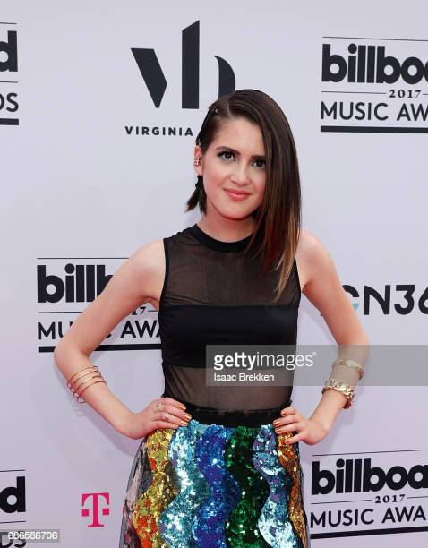 Laura Marano arrives at the 2017 Billboard Music Awards presented by Virginia Black at TMobile Arena on May 21 2017 in Las Vegas Nevada