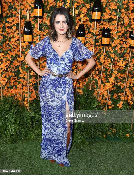 Laura Marano arrives at the 9th Annual Veuve Clicquot Polo Classic Los Angeles at Will Rogers State Historic Park on October 6 2018 in Pacific...