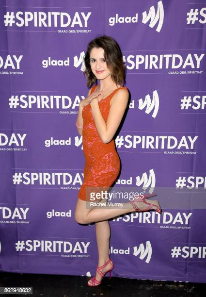 Laura Marano at Justin Tranter And GLAAD Present 'Believer' Spirit Day Concert at Sayer's Club on October 18 2017 in Los Angeles California