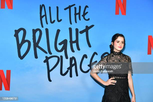 Laura Marano attends a Special Screening of Netflix's All The Bright Places at ArcLight Hollywood on February 24 2020 in Hollywood California