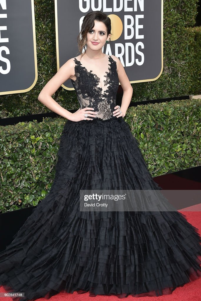 Laura Marano attends the 75th Annual Golden Globe Awards - Arrivals at The Beverly Hilton Hotel on January 7, 2018 in Beverly Hills, California.