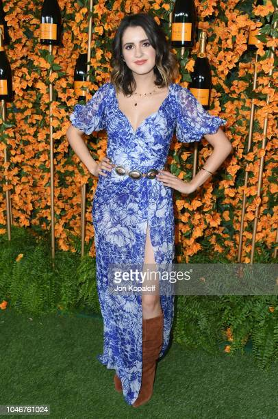 Laura Marano attends the 9th Annual Veuve Clicquot Polo Classic Los Angeles at Will Rogers State Historic Park on October 6 2018 in Pacific Palisades...