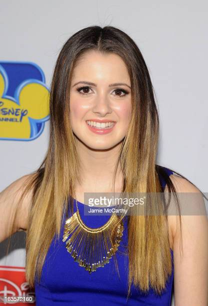 Laura Marano attends the Disney Channel Kids Upfront 2013 at Hudson Theatre on March 12 2013 in New York City