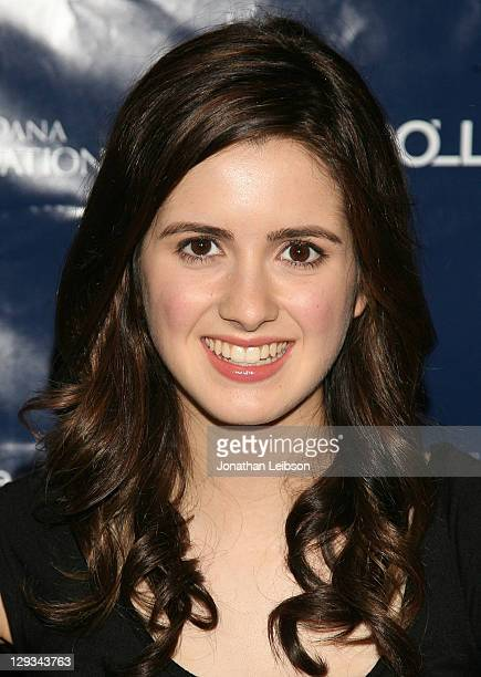 Laura Marano attends the Life Rolls On Foundation's 8th Annual Night By The Ocean Gala at Ritz Carlton Hotel on October 15 2011 in Marina del Rey...