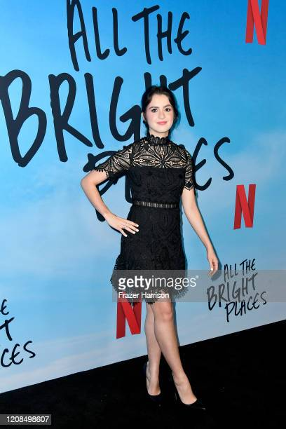 Laura Marano attends the Special Screening of Netflix's All The Bright Places at ArcLight Hollywood on February 24 2020 in Hollywood California