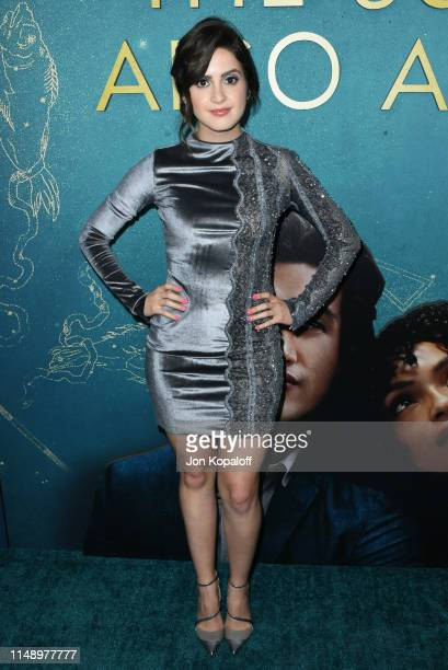 Laura Marano attends the World Premiere Of Warner Bros The Sun Is Also A Star at Pacific Theaters at the Grove on May 13 2019 in Los Angeles...