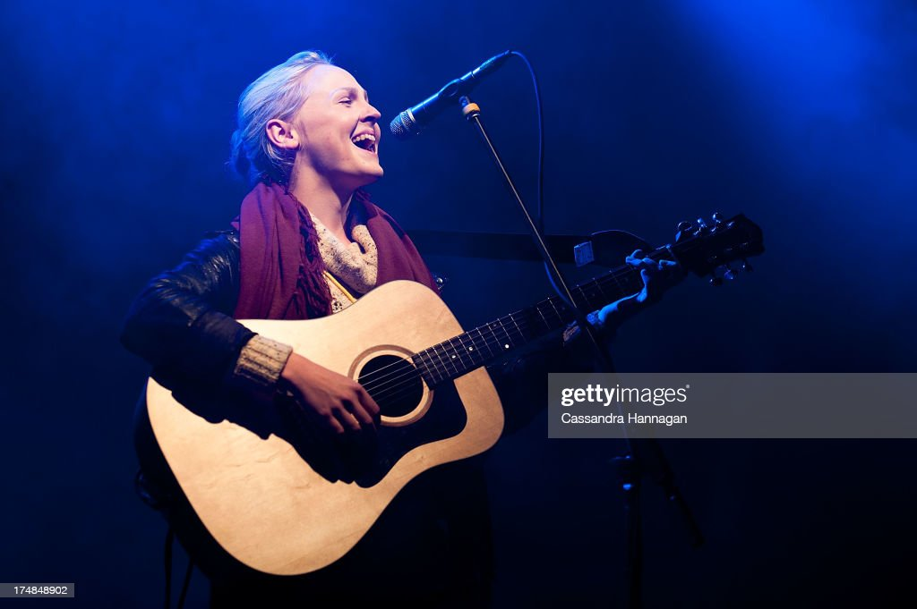 Laura Marling performs for fans on day 3 of the 2013 Splendour In The Grass Festival on July 28, 2013 in Byron Bay, Australia.