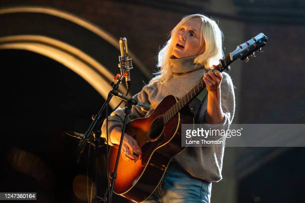 "Laura Marling performs her new album ""Song For Our Daughter"" in an empty Union Chapel on June 06, 2020 in London, England. The gig was streamed live..."