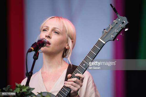 Laura Marling performs on day 4 of the Glastonbury Festival 2017 at Worthy Farm Pilton on June 25 2017 in Glastonbury England