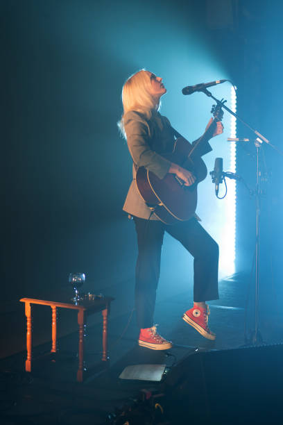 GBR: Laura Marling Performs At The Queen's Hall, Edinburgh
