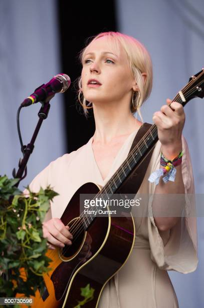 Laura Marling performs on The Pyramid Stage on day 4 of the Glastonbury Festival 2017 at Worthy Farm Pilton on June 25 2017 in Glastonbury England
