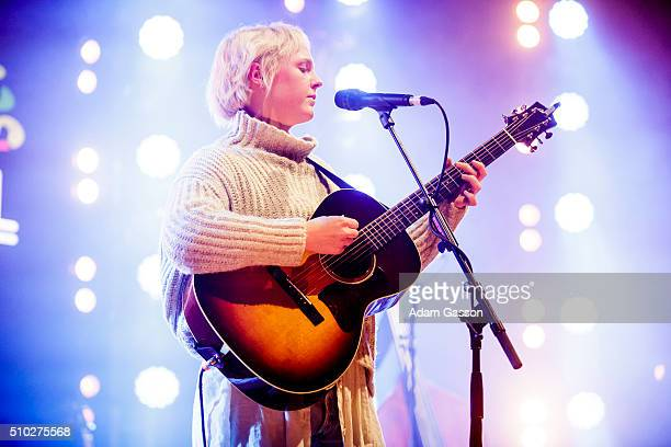 Laura Marling performs the headline set on the third day of the BBC 6 Music Festival at Colston Hall on February 14 2016 in Bristol England