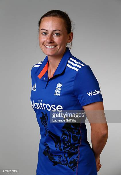 Laura Marsh of England poses for a portrait at the National Cricket Performance Centre on July 1 2015 in Loughborough England