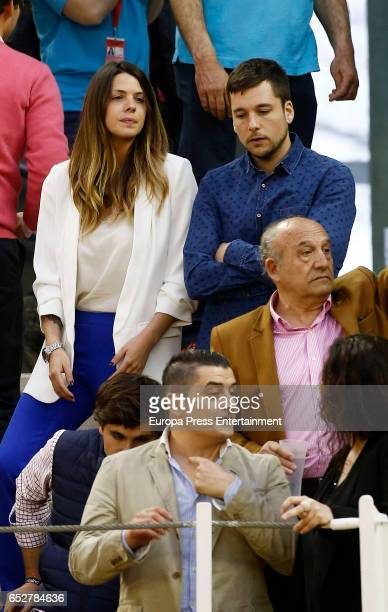 Laura Matamoros and Benji Aparicio attend the traditional Spring Bullfighting performance on March 11 2017 in Illescas Spain