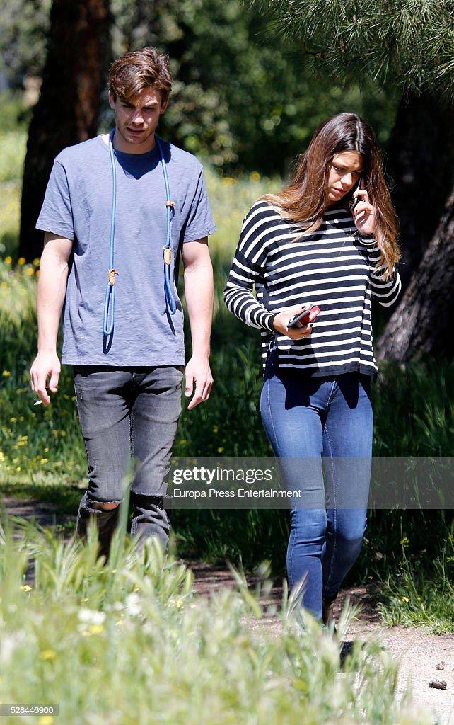 Celebrities Sighting In Madrid - April 18, 2016 : Fotografía de noticias