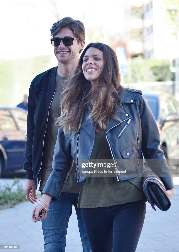 Celebrities Sighting In Madrid - April 21, 2016 : News Photo