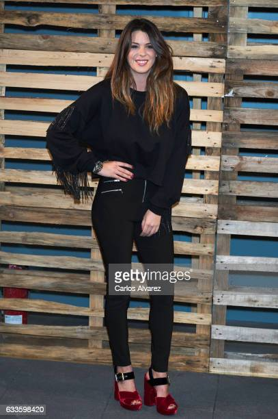 Laura Matamoros attends 'Naked' opening party on February 2 2017 in Madrid Spain