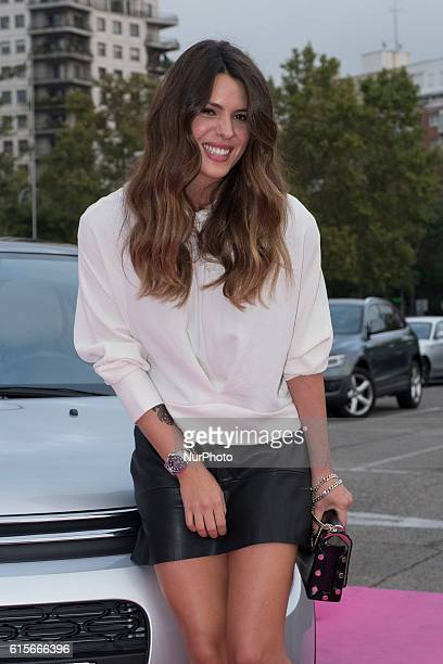 Laura Matamoros attends the presentation of the 'Citroën Urban Tour' in Madrid Spain on October 19 2016