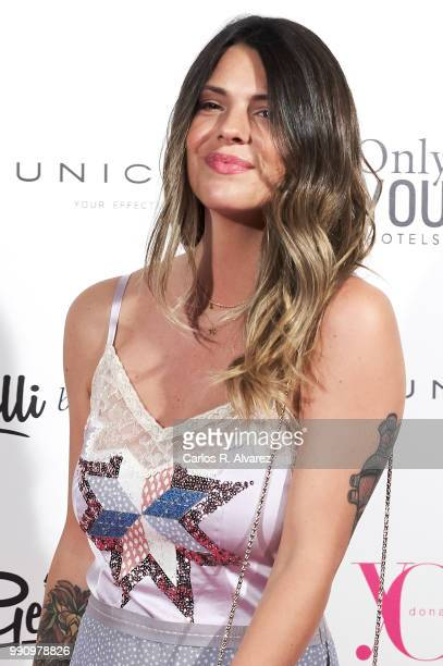 Laura Matamoros attends the 'Yo Dona' party at Only You Hotel Atocha on July 3 2018 in Madrid Spain