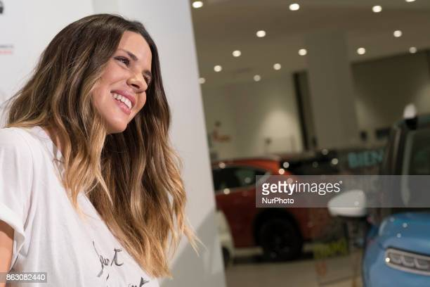 Laura Matamoros Flores attends the presentation of the new Citroen C3 Aircross in Madrid Spain October 19 2017