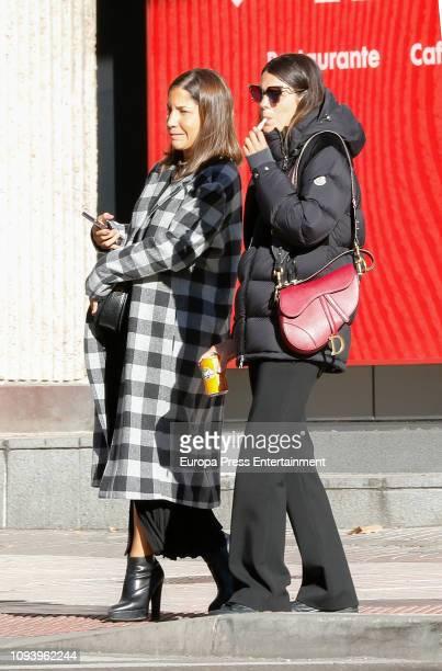 Laura Matamoros is seen on January 12 2019 in Madrid Spain
