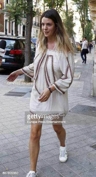 Laura Matamoros is sighted on October 4 2017 in Madrid Spain