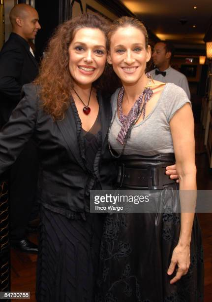 Laura Mercier and Sarah Jessica Parker