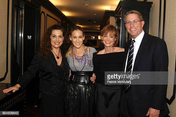 Laura Mercier Sarah Jessica Parker Janet Gurwitch and Bill Payne attend Sarah Jessica Parker and Serge Normant Host the Book Launch Party for Laura...