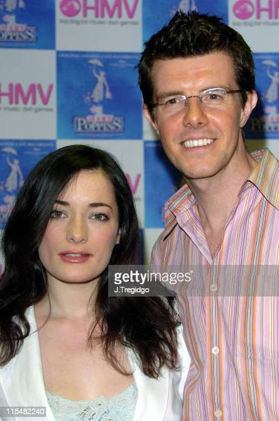 Laura Michelle Kelly and Gavin Lee during 'Mary Poppins' Cast Recording InStore Signing at HMV Trocadero in London at HMV Trocadero in London Great...
