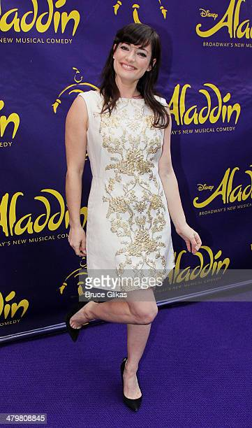 Laura Michelle Kelly attends the 'Aladdin' On Broadway Opening Night at The New Amsterdam Theatre on March 20 2014 in New York City