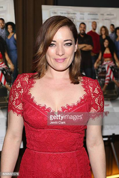 Laura Michelle Kelly attends the Barbershop The Next Cut Screeing at HBO Screening Room on April 11 2016 in New York City