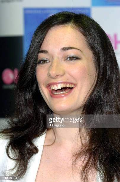 Laura Michelle Kelly during 'Mary Poppins' Cast Recording InStore Signing at HMV Trocadero in London at HMV Trocadero in London Great Britain