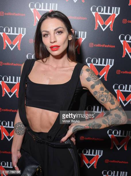 Laura Molina attends Collini Unminimal Party Milan Fashion Week Autumn / Winter 2019/20 on February 20 2019 in Milan Italy
