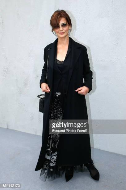 Laura Morante attends the Christian Dior show as part of the Paris Fashion Week Womenswear Spring/Summer 2018 on September 26 2017 in Paris France