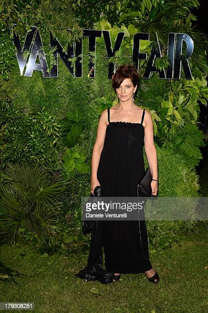 Laura Morante attends Vanity Fair Celebrate 10th Anniversary during the 70th Venice International Film Festival at Fondazione Giorgio Cini on...