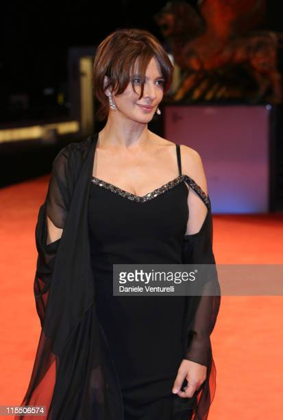 Laura Morante during The 63rd International Venice Film Festival 'Private Fears in Public Places' Premiere at Palazzo Del Cinema in Venice Lido Italy