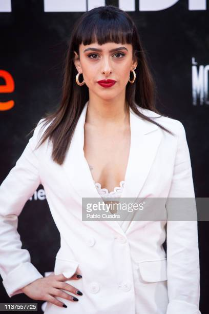 Laura Moray attends the 'La Caza Monteperdido' photocall on March 22 2019 in Madrid Spain