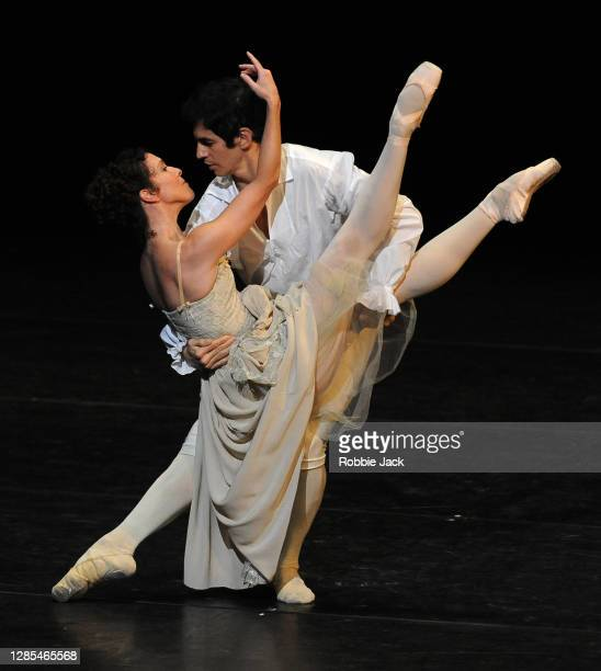 Laura Morera and Federico Bonelli in The Royal Ballet's production of Kenneth MacMillan's Manon at The Royal Opera House on November 12, 2020 in...