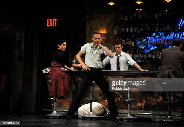 Laura Morera as Rosetta Steven McRae as EmbleKevin Emerton as Bartender and Bennet Gartside as Quant in the Royal Ballet's production of Liam...