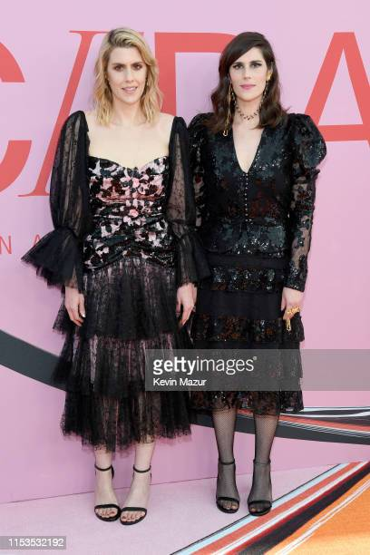 Laura Mulleavy and Kate Mulleavy attend the CFDA Fashion Awards at the Brooklyn Museum of Art on June 03, 2019 in New York City.