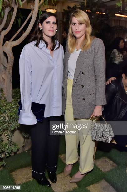 Laura Mulleavy and Kate Mulleavy attend Vanity Fair And Focus Features Celebrate The Film 'Phantom Thread' with Paul Thomas Anderson at the Chateau...