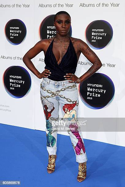Laura Mvula arrives at the Hyundai Mercury Prize 2016 at Eventim Apollo on September 15 2016 in London England