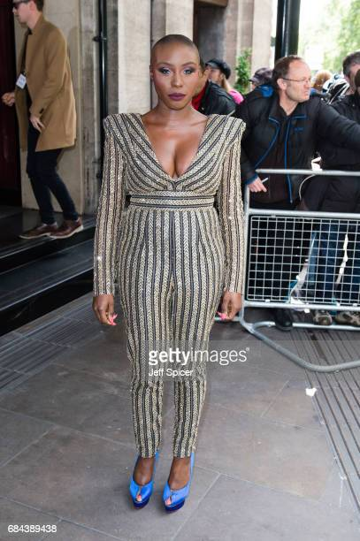 Laura Mvula attends the Ivor Novello Awards at Grosvenor House on May 18 2017 in London England