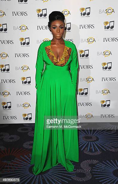 Laura Mvula attends the Ivor Novello Awards at The Grosvenor House Hotel on May 22, 2014 in London, England.