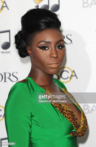 Laura Mvula attends the Ivor Novello Awards at The Grosvenor House Hotel on May 22 2014 in London England