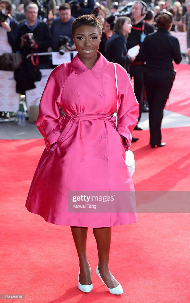 Laura Mvula attends the Prince's Trust & Samsung Celebrate Success awards at Odeon Leicester Square on March 12, 2014 in London, England.